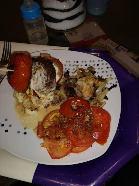 tomato burguer